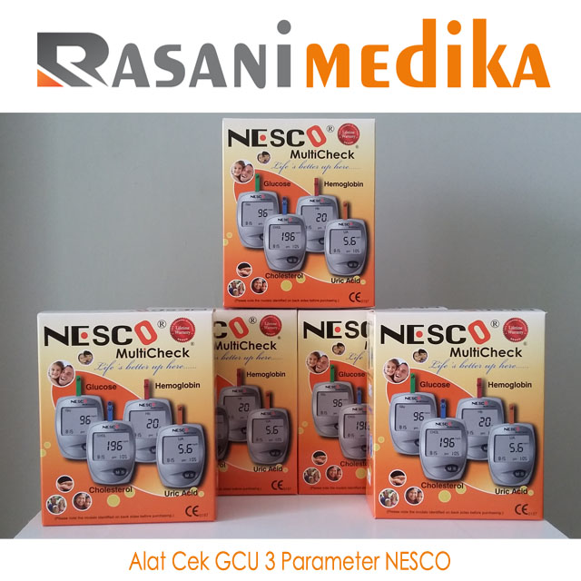 Alat Cek GCU 3 Parameter NESCO