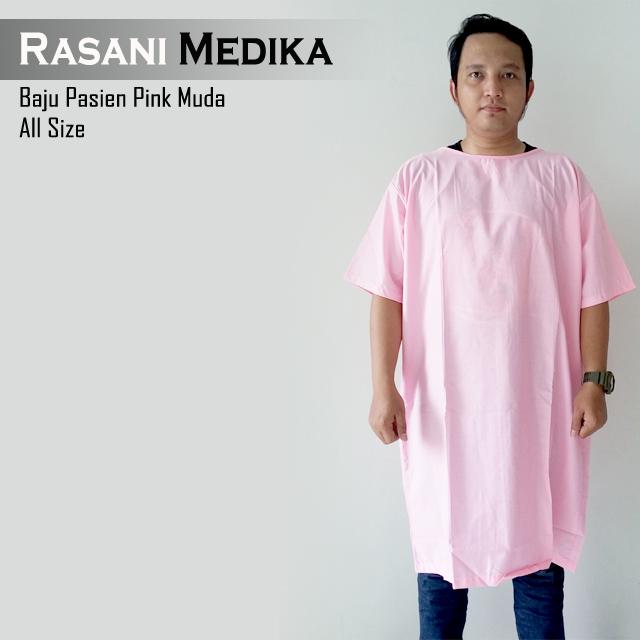 Baju Pasien Pink Muda