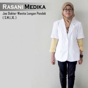 Jas Dokter Wanita Lengan Pendek (snelli)