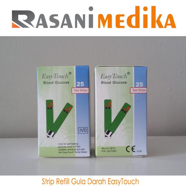 Strip Refill Gula Darah EasyTouch