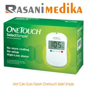Alat Cek Gula Darah Onetouch Select Simple