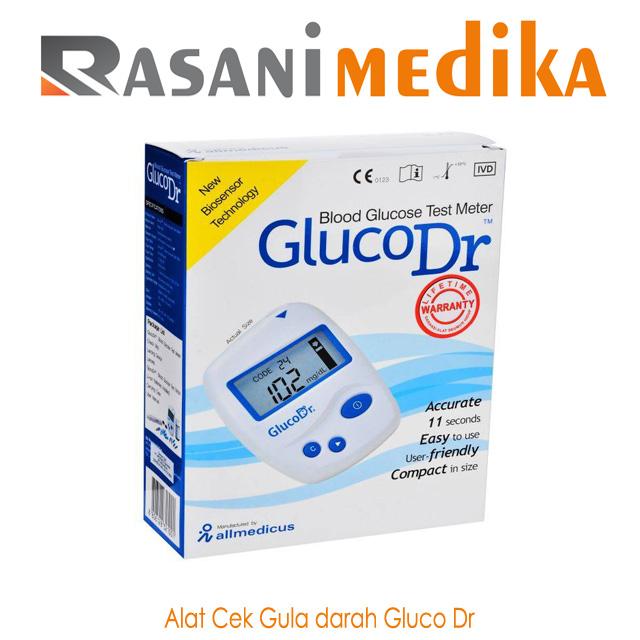 Alat Cek Gula darah Gluco Dr