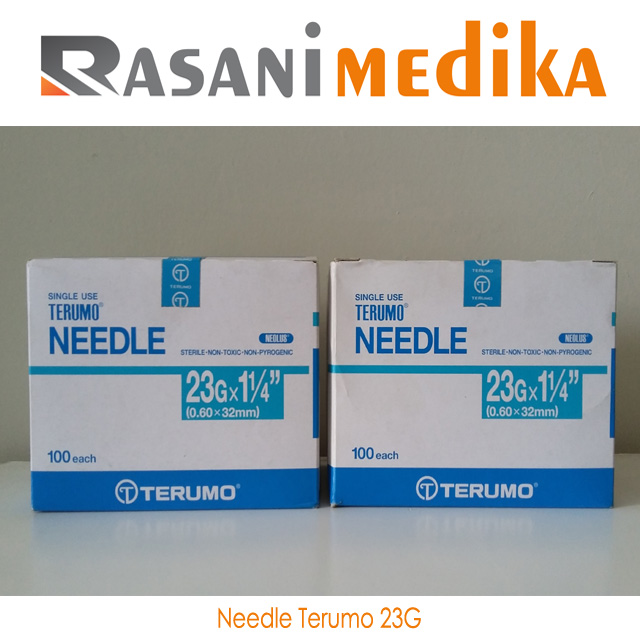 Needle Terumo 23G