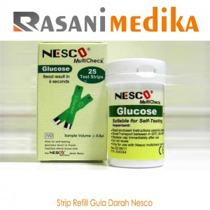 Strip Refill Gula Darah Nesco