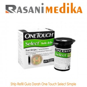 Strip Refill Gula Darah One Touch Select Simple