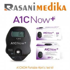 Alat cek HbA1c A1CNOW+