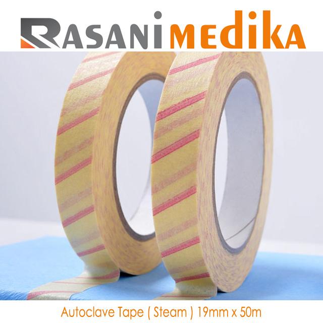Autoclave Tape ( Steam ) 19mm x 50m