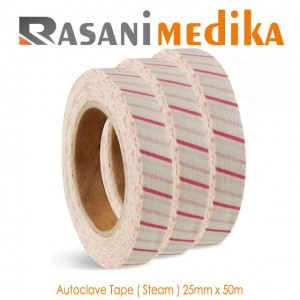 Autoclave Tape ( Steam ) 25mm x 50m PMS