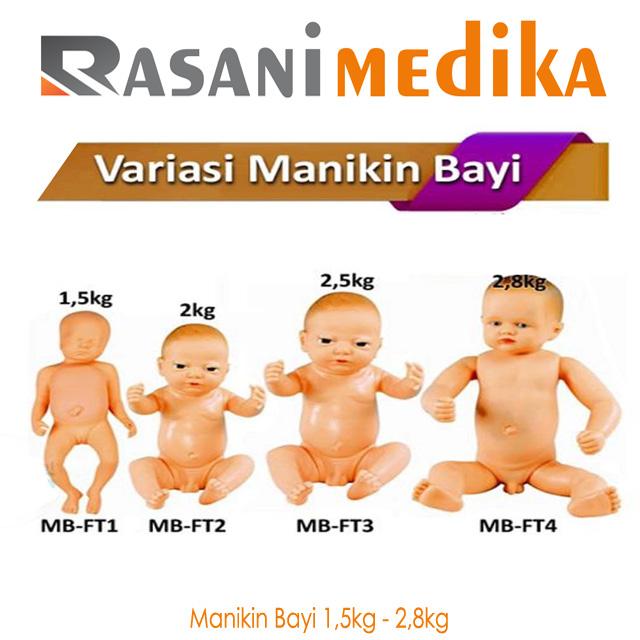 Manikin Bayi 1,5kg - 2,8kg