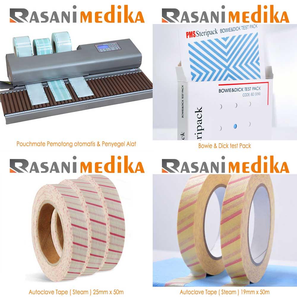 Distributor Autoclave Tape Steam Indikator Rasani Medika Kasa Steril 3m Produk Pms