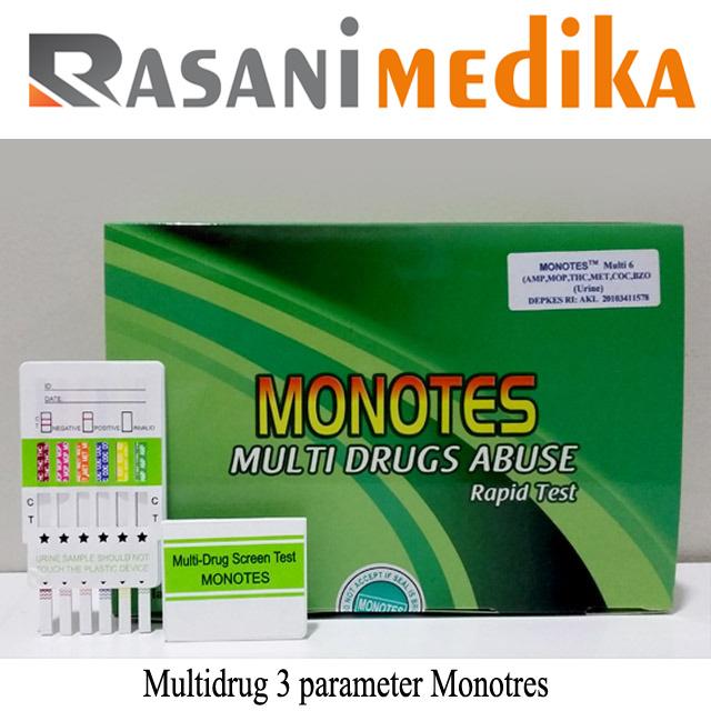 Multidrug 3 parameter Monotres