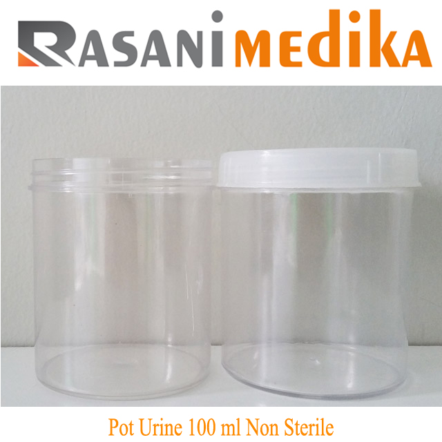 Pot Urine 100 ml Non Sterile