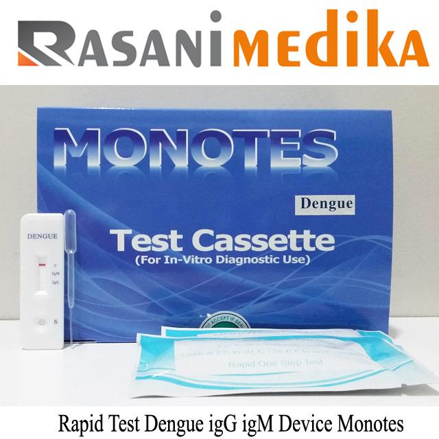 Rapid Test Dengue igG igM Device Monotes