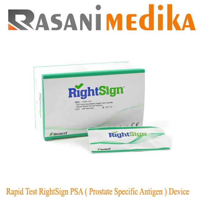 Rapid Test RightSign PSA ( Prostate Specific Antigen ) Device
