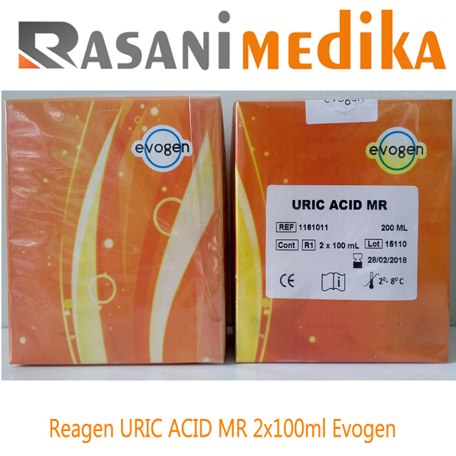 Reagen URIC ACID MR 2x100ml Evogen
