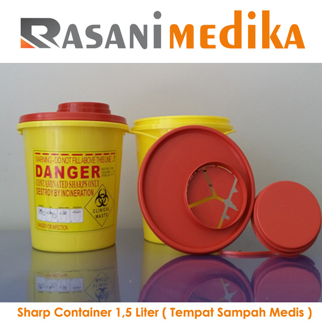 Sharp Container 1,5 Liter ( Tempat Sampah Medis )