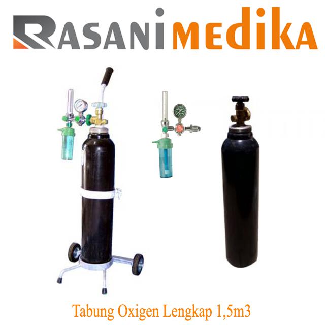 Tabung Oxigen Lengkap 1,5m3