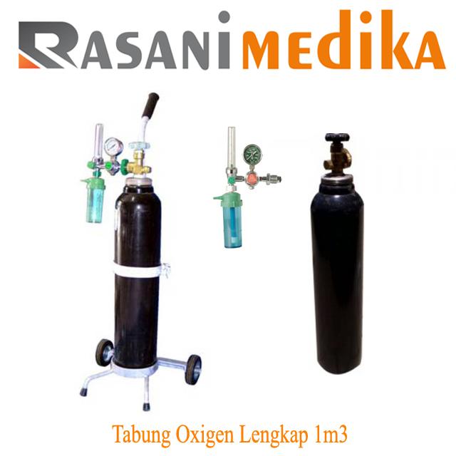 Tabung Oxigen Lengkap 1m3