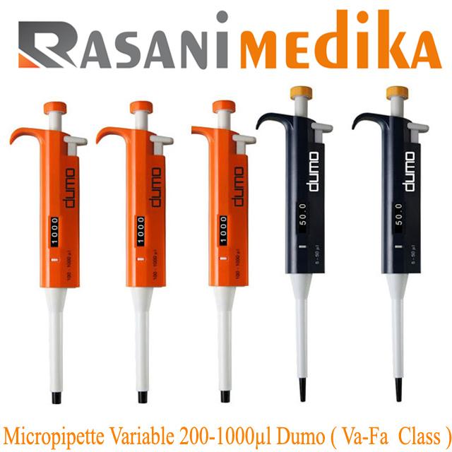 Micropipette Variable 200-1000µl Dumo ( Va-Fa Class )