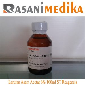 Larutan Asam Acetat 6% 100ml ST Reagensia