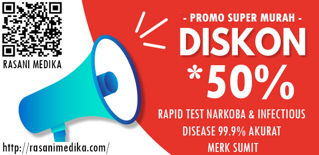 Distributor Rapid Test Murah Diskon 50%