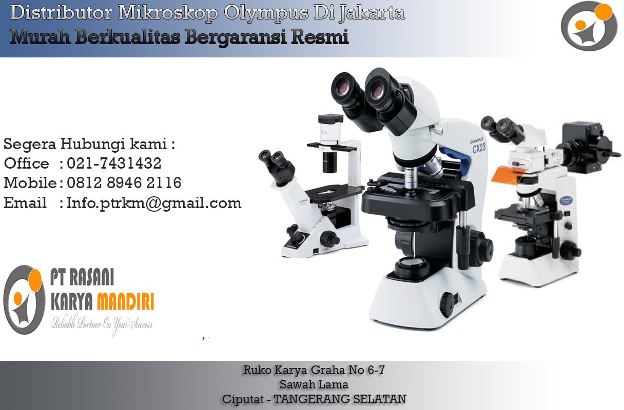 Distributor Mikroskop Olympus Di Jakarta | Rasani Medika