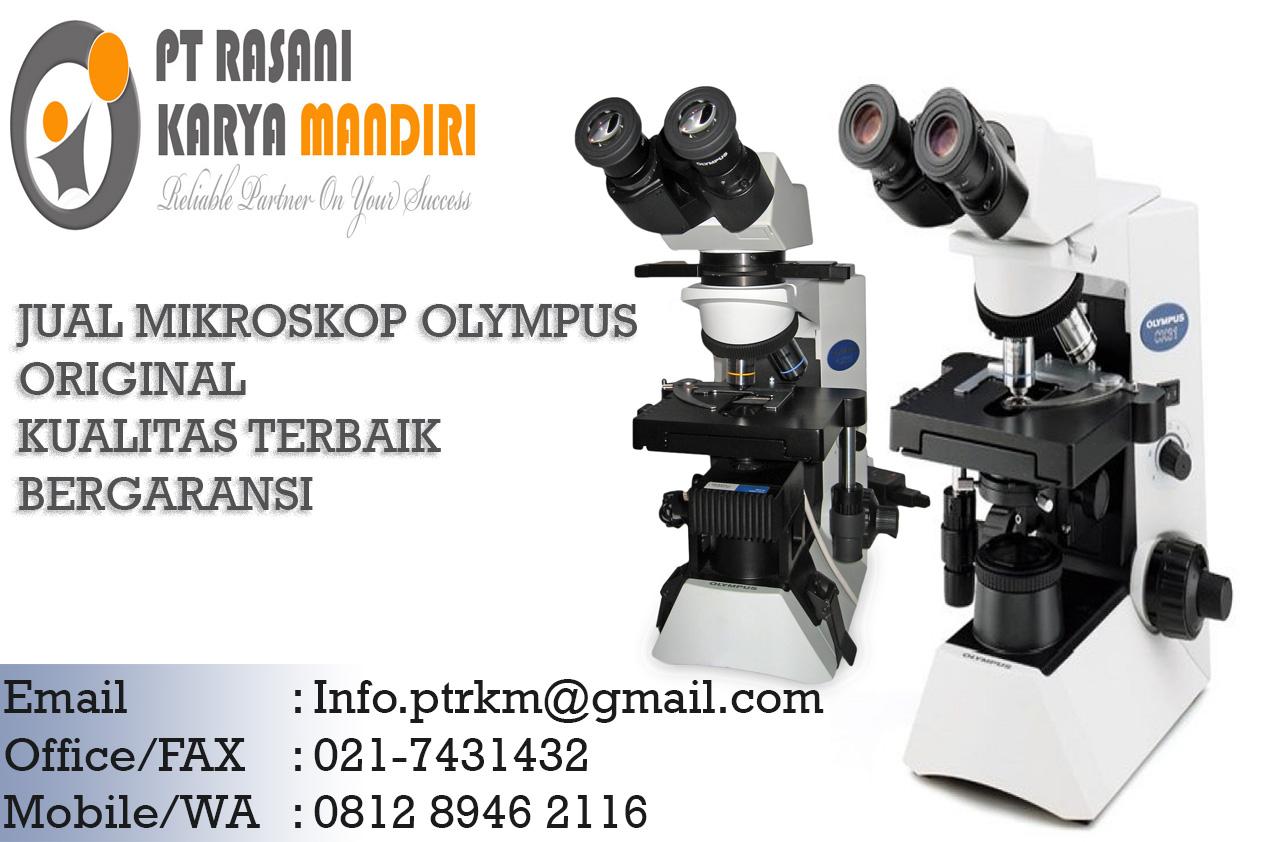 Distributor Mikroskop Profesional Olympus Rasani Medika
