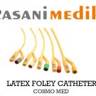 LATEX FOLEY CATHETER COSMOMED