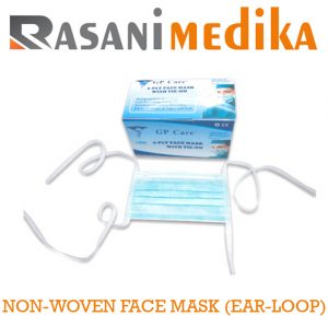 NON-WOVEN FACE MASK (TIE-ON)