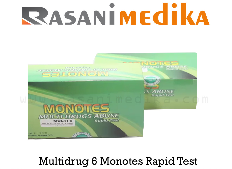 Multidrug 6 Monotes Rapid Test