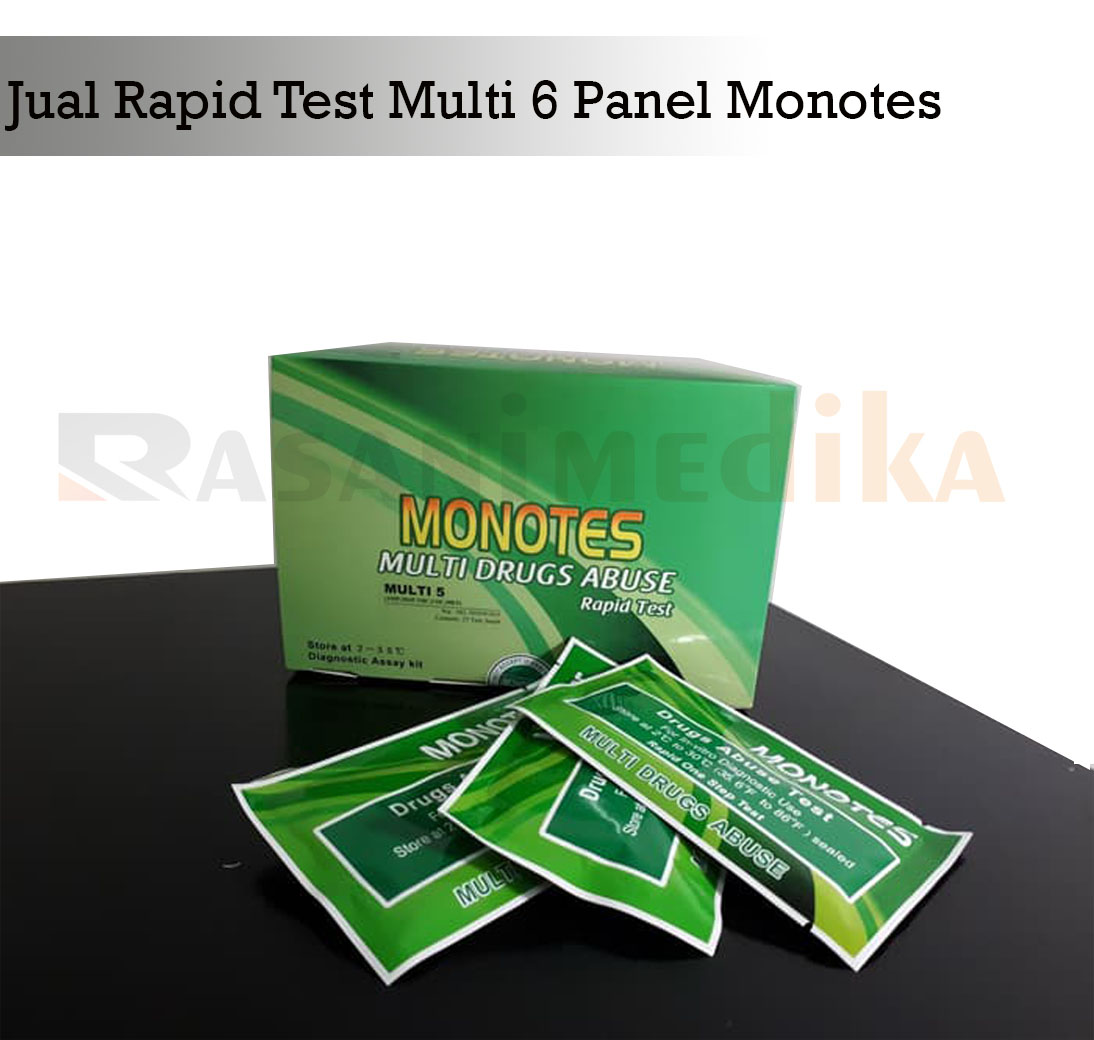 Rapid Test Multi 6 Panel Monotes