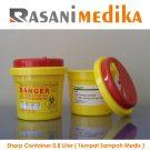 Sharp Container 0,8 Liter ( Tempat Sampah Medis )